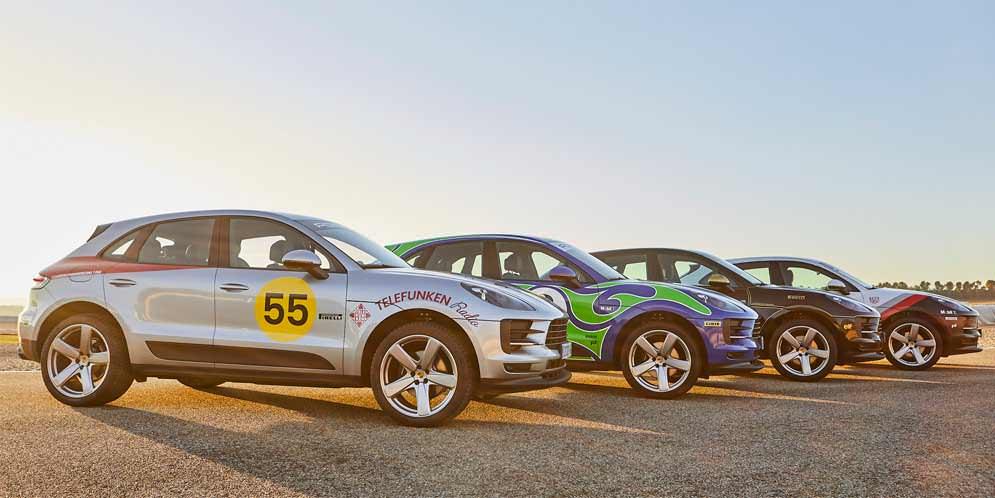 Porsche Испания добавила 4 гоночных ливреи Macan-у