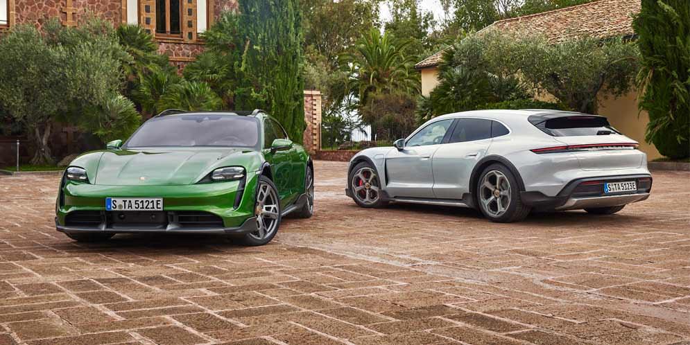Универсал Porsche Taycan Cross Turismo показан официально