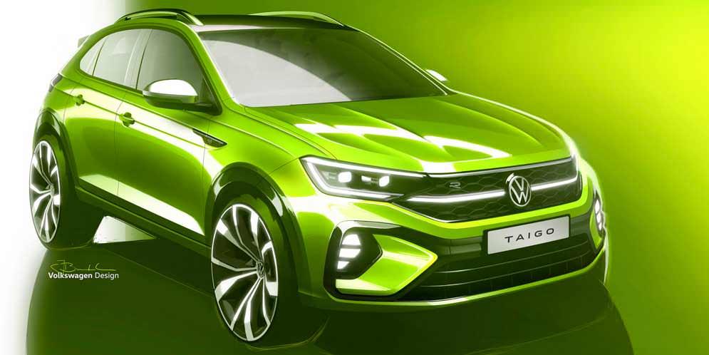 Маленький кроссовер Volkswagen Taigo готовится для Европы