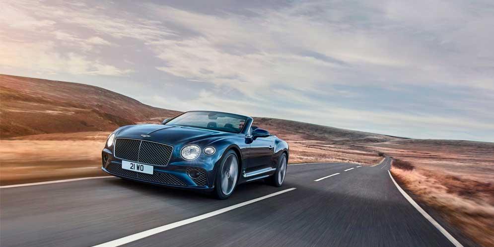 Вышел новый кабриолет Bentley Continental GT Speed Convertible