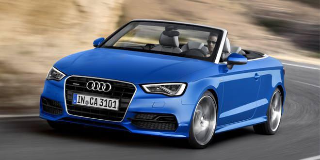 С конвейера сошли первые кабриолеты Audi A3