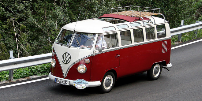 Легендарный минивэн Volkswagen Transporter