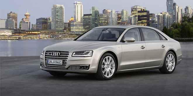 Показана самая роскошная версия Audi A8
