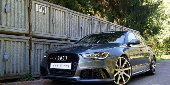 Заряд мощности для Audi RS6 Avant от MTM