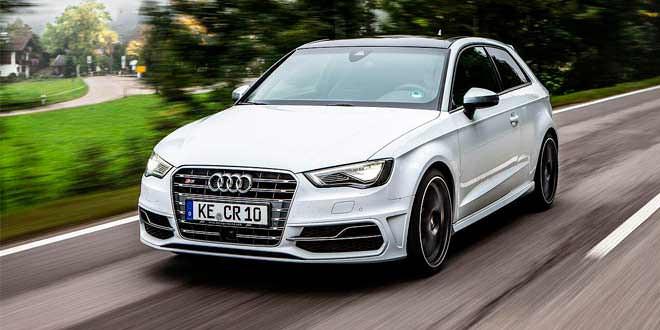 Экстремальный тюнинг «горячего» Audi S3 от ABT Sportsline