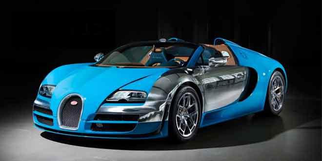 Очередной Bugatti Veyron в спецверсии