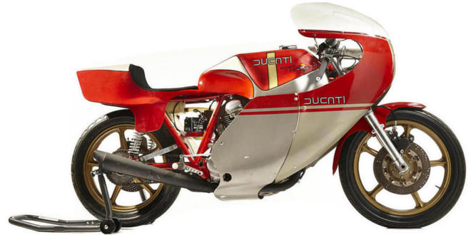 С аукциона в Лас-Вегасе продадут раритетные Ducati