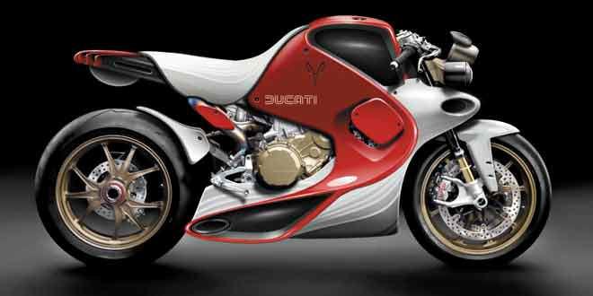 Студия Gannet Design представила концепт Ducati Superleggera Fluid