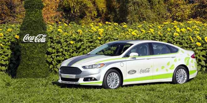 Ford подготовил для моторшоу в Лос-Анджелесе Fusion с интерьером из пластиковых бутылок