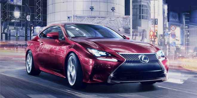 Lexus покажет на автосалоне в Токио новое купе
