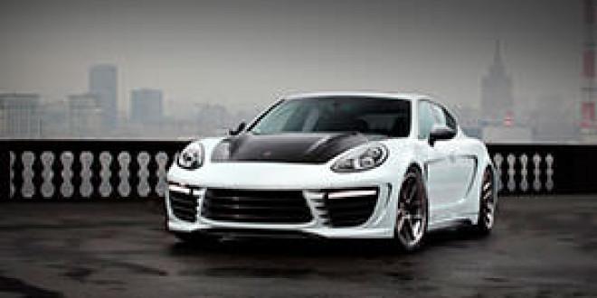 Московский тюнер TopCar выпустил пакет доработок Stingray GTR для Porsche Panamera