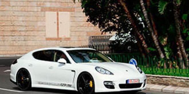 Porsche Panamera Turbo по версии тюнинг-ателье Gemballa