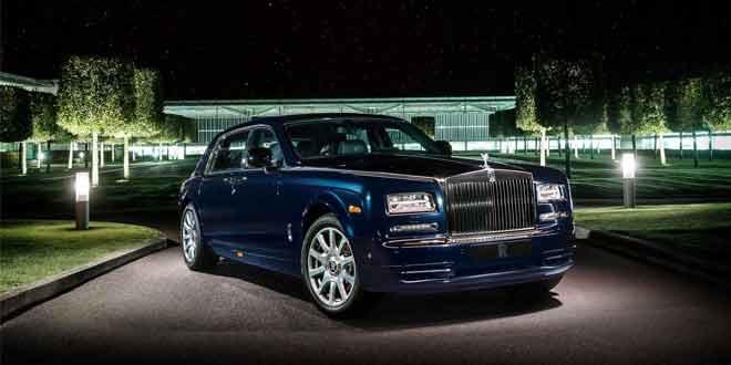 Вышел «бриллиантовый» Rolls-Royce Phantom