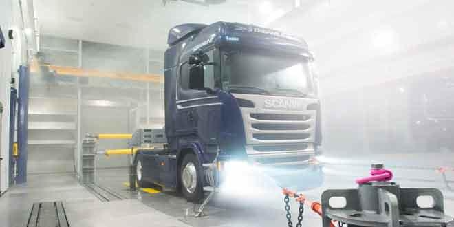 Грузовики и автобусы Scania будут проходить климатические испытания в Швеции