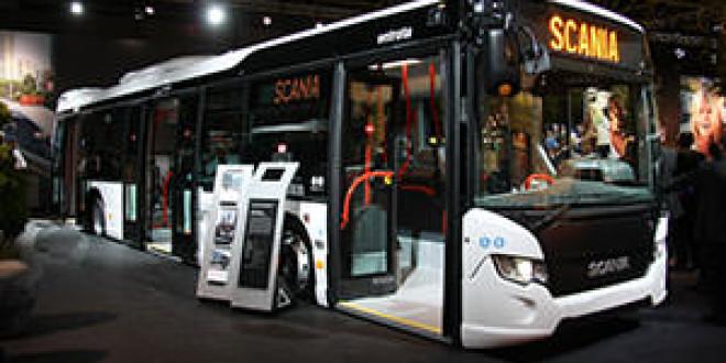 Scania представила свои экологичные новинки на выставке Busworld Kortrijk 2013
