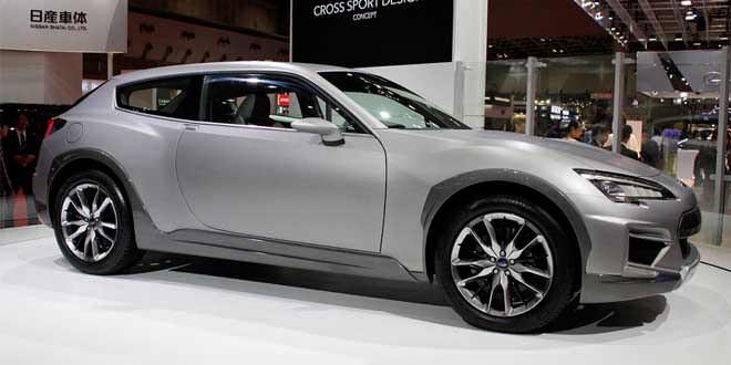 Subaru показала концепт вседорожного купе