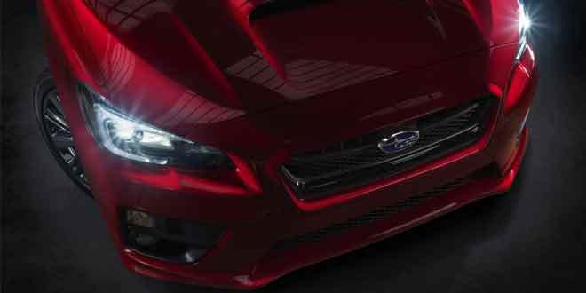 Представлены первые фотографии нового седана Subaru WRX