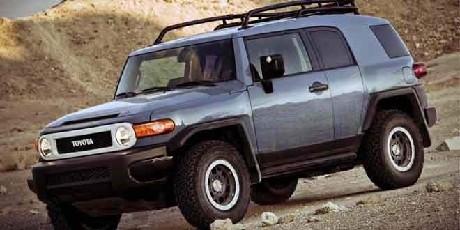 Toyota прощается с внедорожником FJ Cruiser. Будет спецверсия