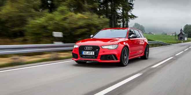 Audi RS6 Avant теперь и 700 л.с. Спасибо ателье ABT Sportsline