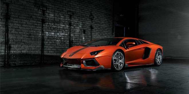 Тюнинг-бюро Vorsteiner представило свой вариант Lamborghini Aventador-V LP-740