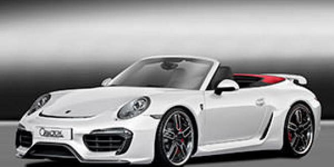 Тюнинг-ателье Caractere Exclusive выкатило прокачанный Porsche 911 Cabriolet