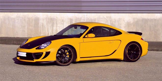 Французская тюнинг-мастерская DelaVilla выпустила спорткар R1 CS на базе Porsche Cayman