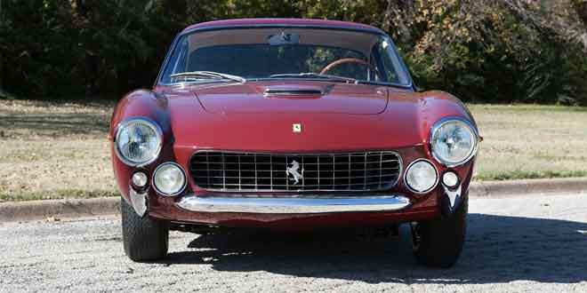 Аукционный дом RM Auctions продаст уникальный Ferrari 250 GT Berlinetta Lusso