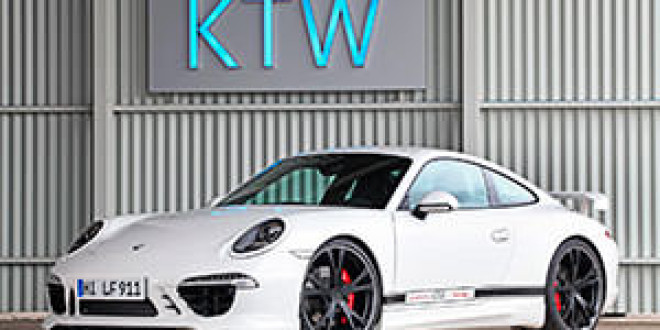 Porsche 911 Carrera S с прокачкой от KTW Tuning