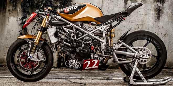 Показаны фотографии уникального Radical Ducati Matador 2013