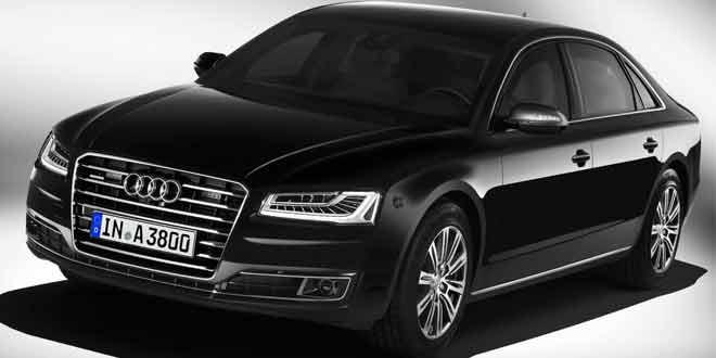 Audi A8 L Security. На защите у VIP-пассажиров