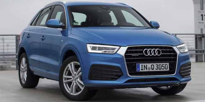 Audi начнёт продажи компактного кроссовера Q3 в США