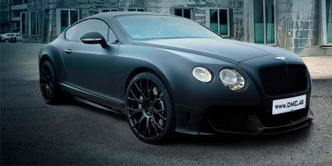 Мастера из тюнинг-конторы DMC тюнинговали Bentley Continental GT