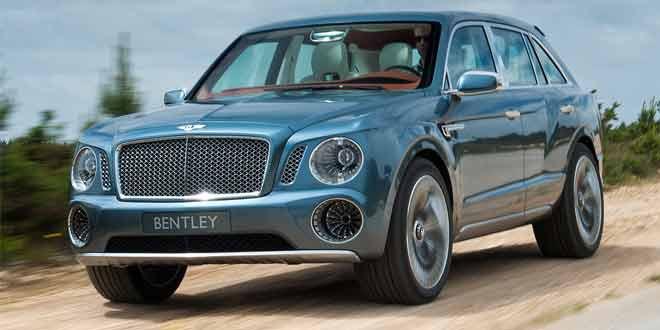 Первый кроссовер Bentley станет первым гибридом марки