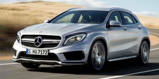 Представлена «заряжённая» модификация кроссовера Mercedes GLA
