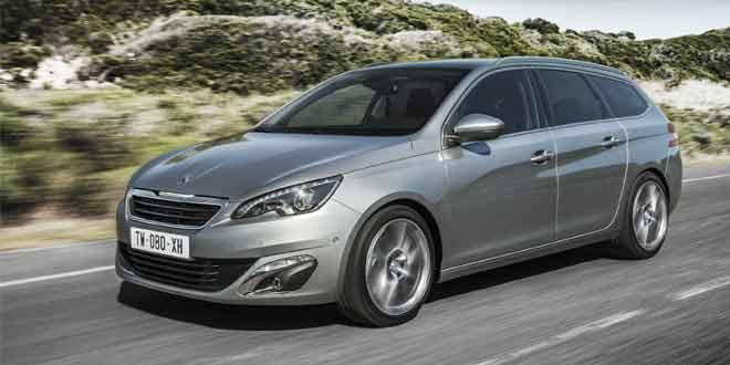 Peugeot приедет на Женевское автошоу с универсалом 308 нового поколения