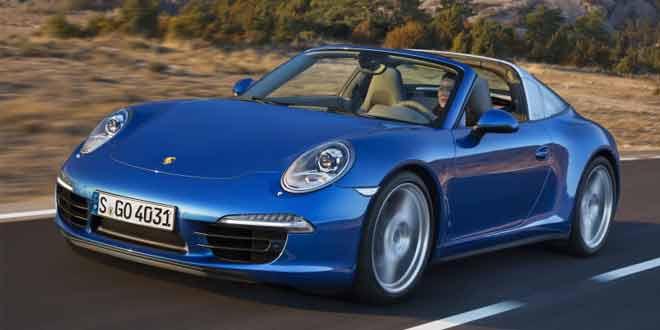 Новая Porsche 911 Targa вышла в стиле модели 1960-х