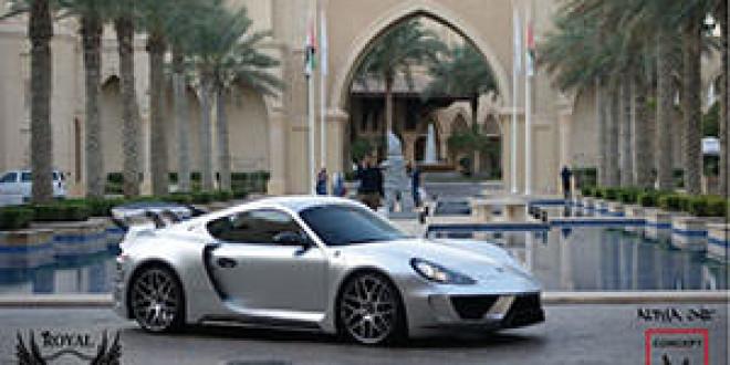 Арабы разработали самую сложную программу тюнинга для Porsche Cayman