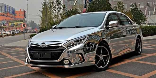 Китайцы выпустили спортивный седан с расходом 1,6-литра