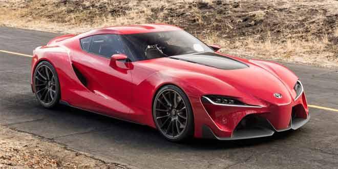 Концепт Toyota FT-1 показал дизайн будущего