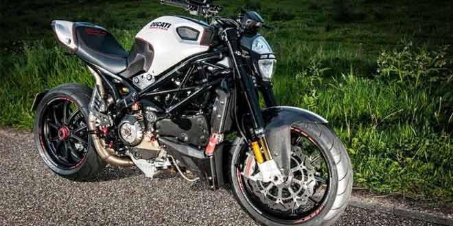 Авторский тюнинг мотоцикла Ducati Monster RR