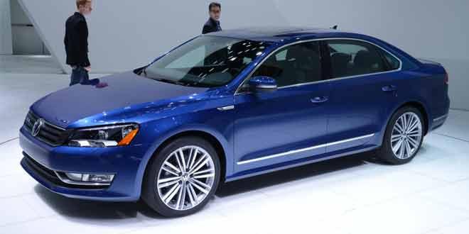 NAIAS 2014. Volkswagen представил Passat BlueMotion Concept