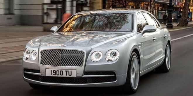 В Женеву приедет новая версия Bentley Flying Spur