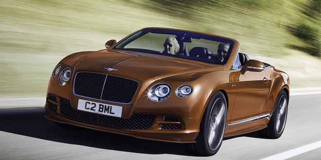 Вышел обновлённый Bentley Continental GT Speed