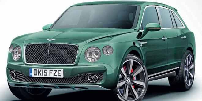 Озвучены новые подробности о первом кроссовере Bentley