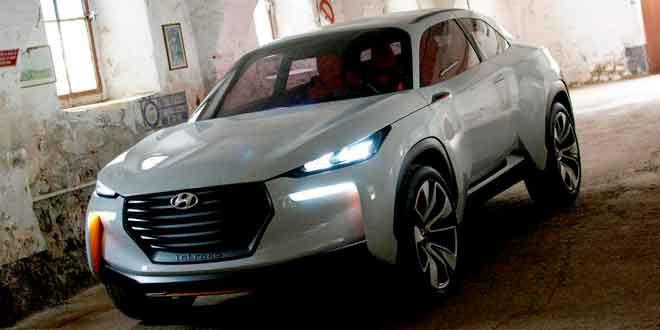 Концепт Intrado показал каким будет новый кроссовер Hyundai