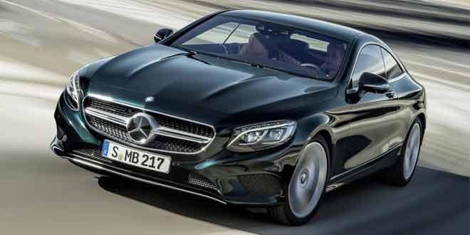 Роскошное купе Mercedes-Benz S-Class Coupe рассекречено до презентации в Женеве