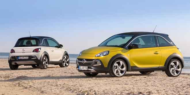 Вышла вседорожная версия «малыша» Opel Adam