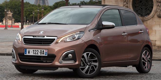 Peugeot 108 — новый игрок на рынке компактных хэтчбеков