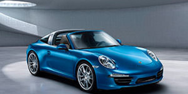 Porsche 911 Targa выйдет в версии Turbo