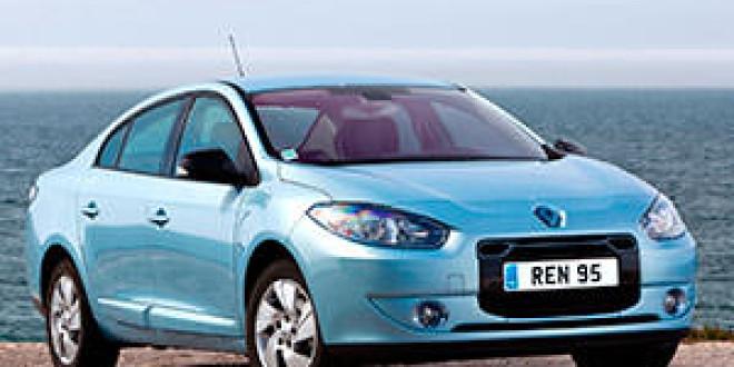 Renault прекратил производство электрического Fluence Z.E